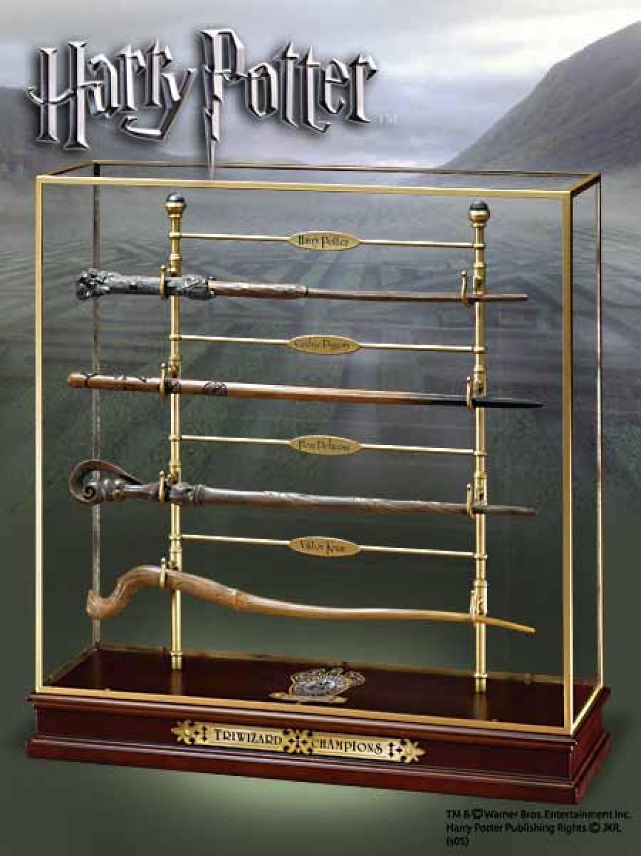 Hp triwizard champions wands set the movie store for Wand und deckenleuchten set
