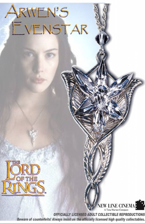 Lord of the Rings 'Arwen Evening Star' XRYAnEKB