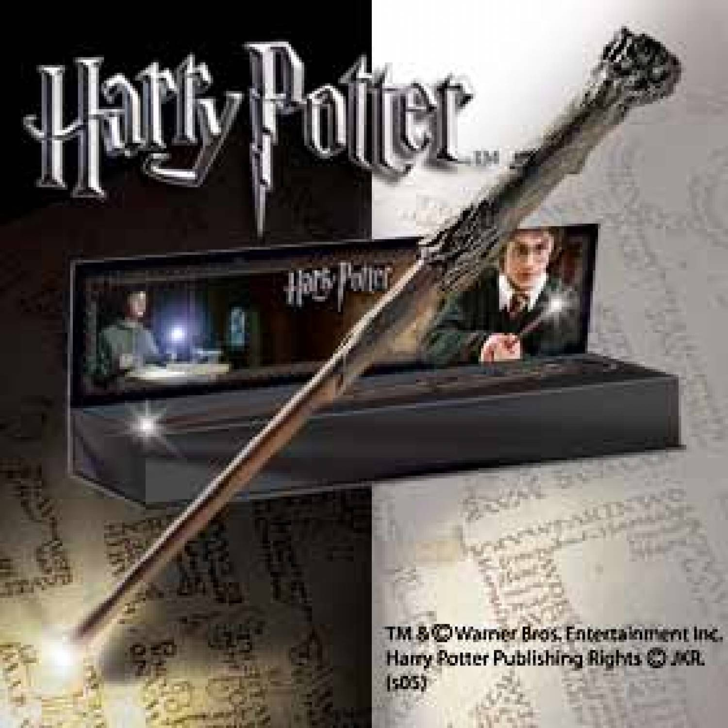 Hp harry potter 39 s illuminating wand the movie store for Static wand