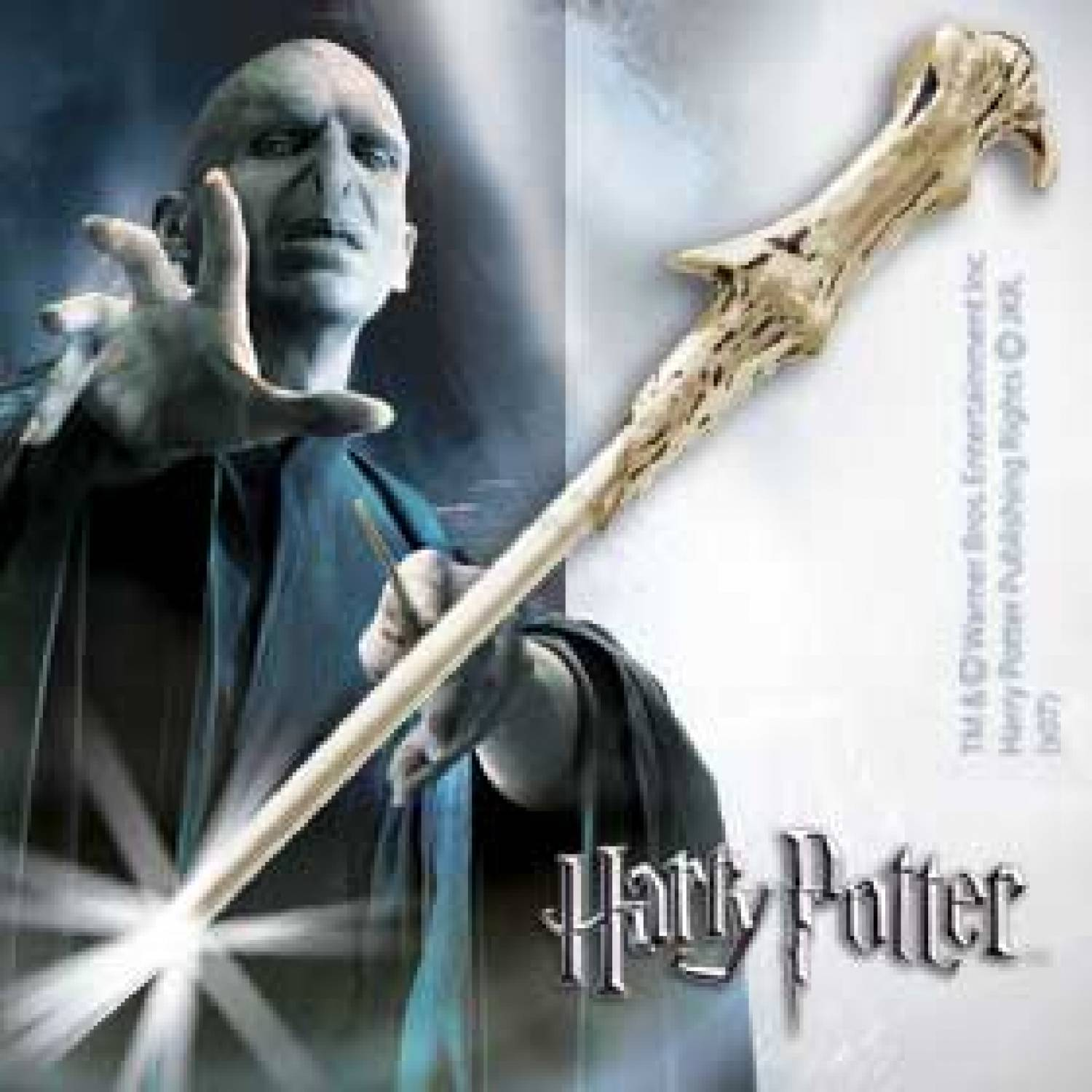 Hp lord voldemort 39 s illuminating wand the movie store for Harry potter voldemort wand
