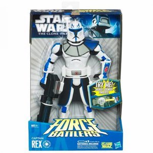 Star Wars Clone Wars Force Battlers - Captain Rex