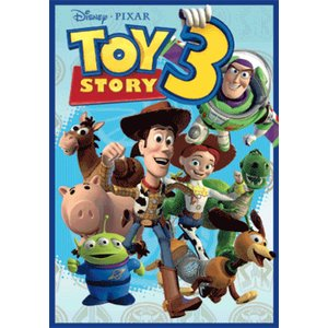 Toy Story 3 - 3D Poster