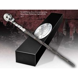 HP & the Deathly Hallows Death Eater Wand (Skull)