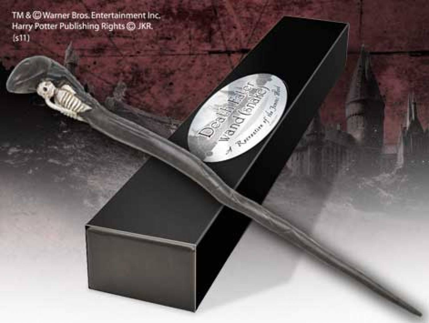 Hp the deathly hallows death eater wand snake the for Deathly hallows wand