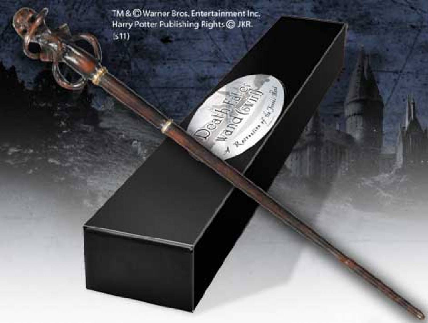 Hp the deathly hallows death eater wand swirl the for The deathly hallows wand