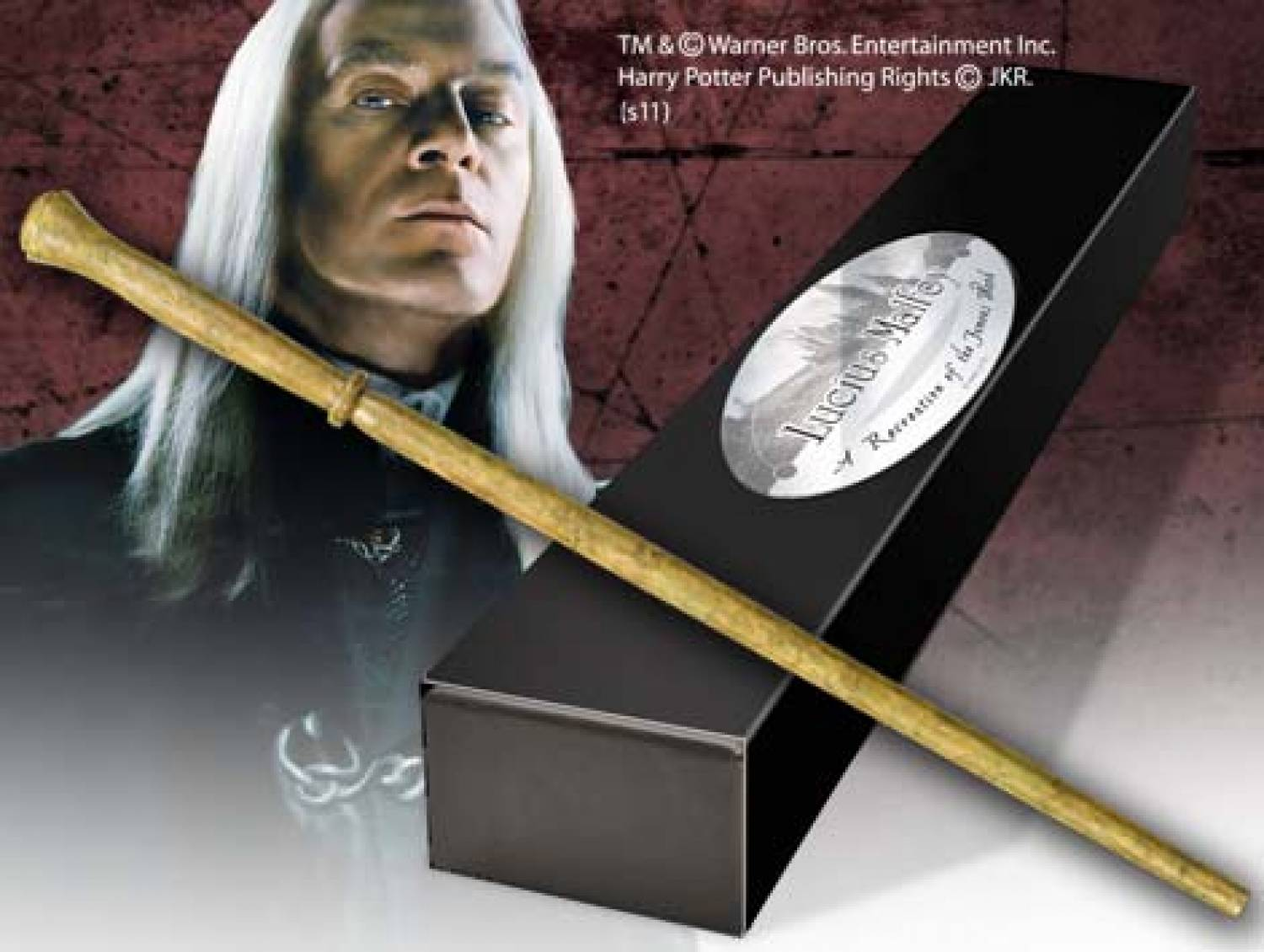 Harry potter and the deathly hallows lucius malfoy 39 s for Harry potter and the deathly hallows wand