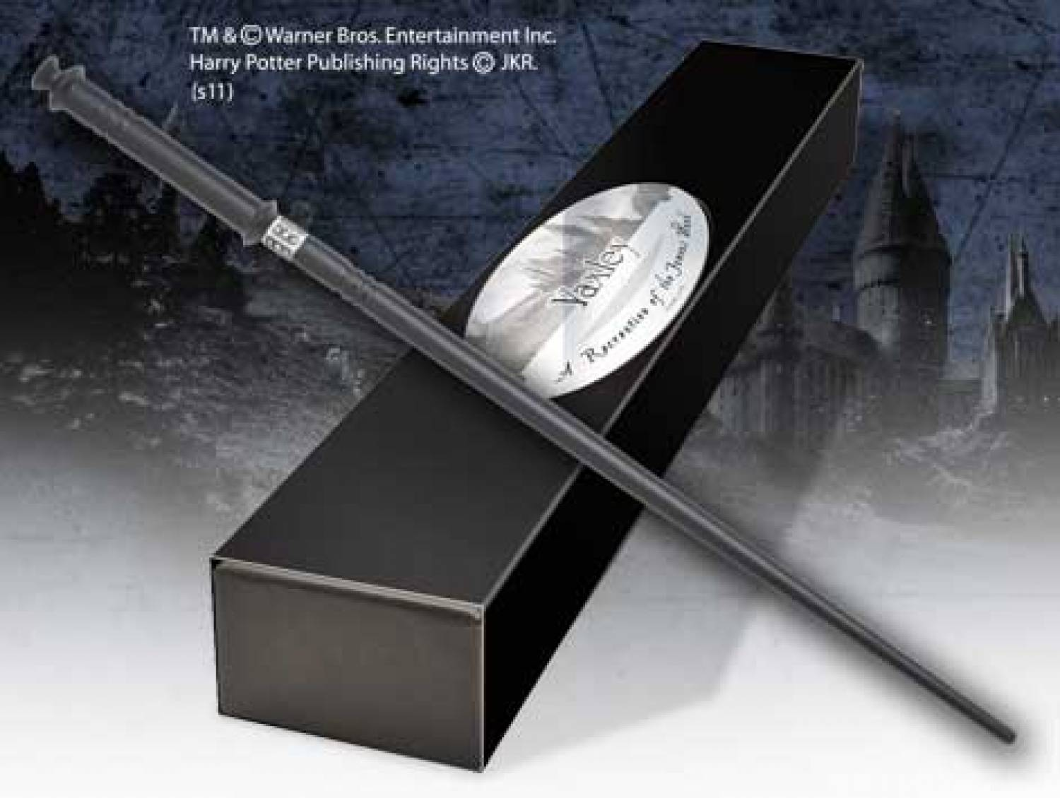 Hp the deathly hallows yaxley 39 s wand the movie store for Deathly hallows wand
