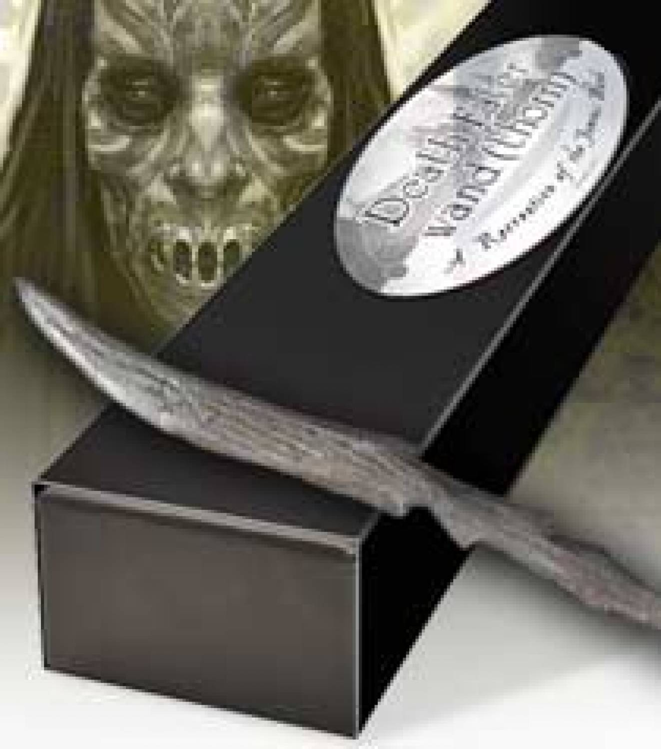 Hp the deathly hallows death eater wand thorn the for The deathly hallows wand