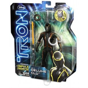 """Tron: Legacy - Clu Deluxe 6"""" Action-Figure"""