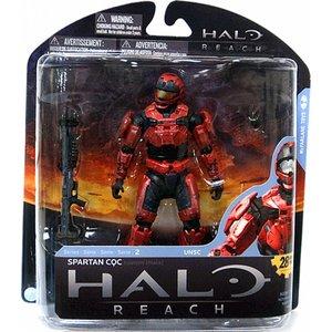 Halo: Reach - Series 2 Spartan CQC Custom Red
