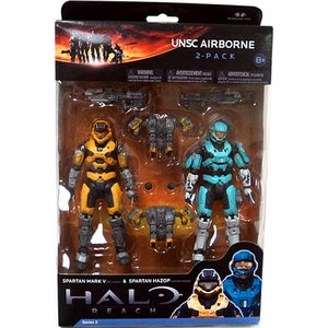 Halo: Reach - Series 2 UNSC Airborne 2-Pack