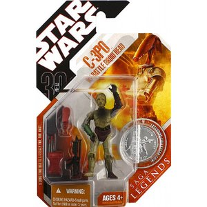 Star Wars - C-3PO mit Battle Droid Kopf