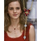 HP - Hermione's Red Crystal Necklace 1/1 Replica