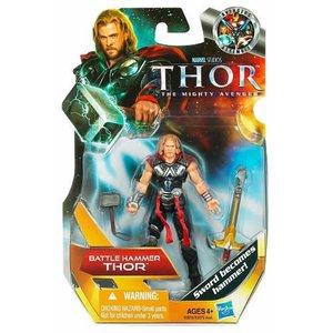 Thor Movie 4-inch Figures - Battle Hammer Thor