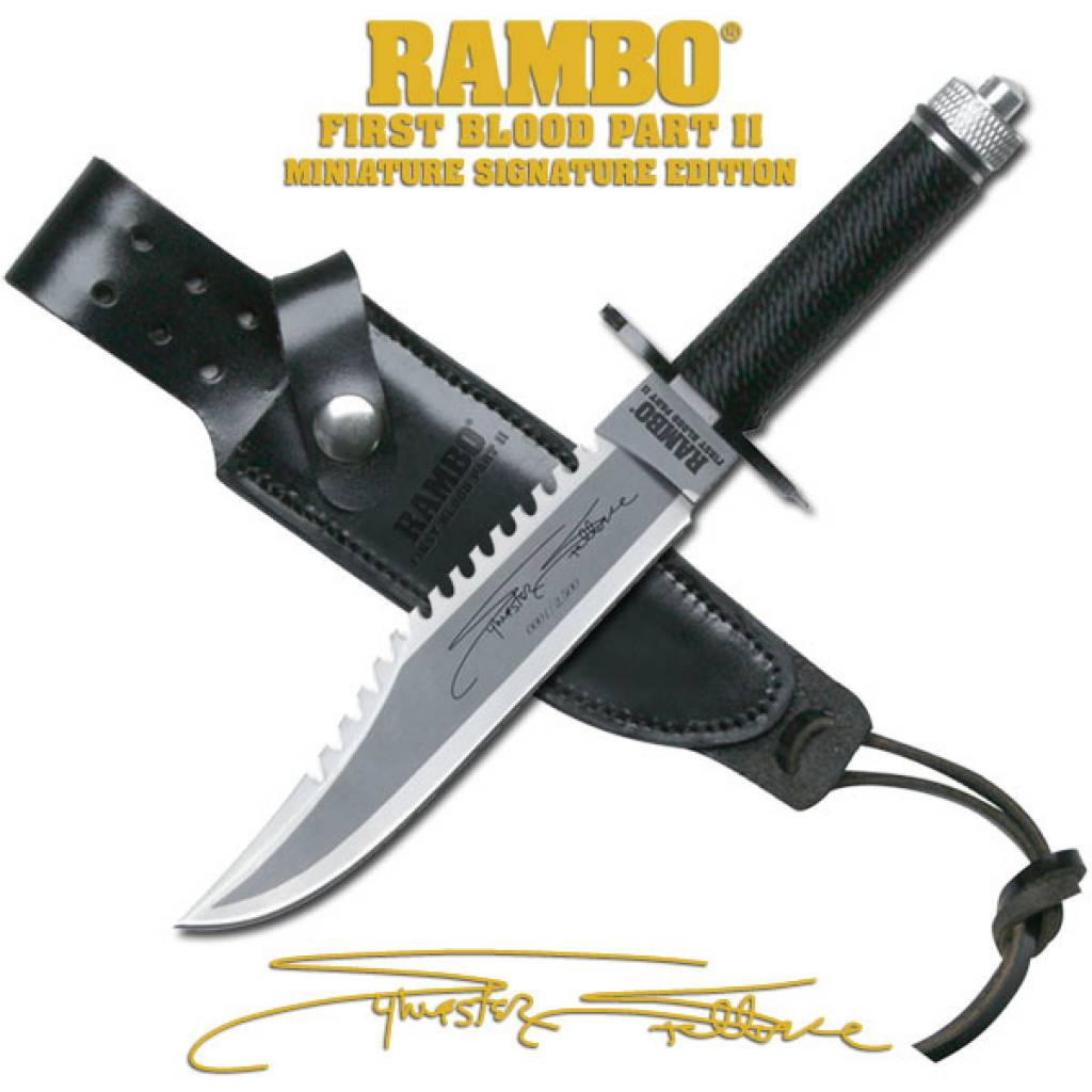 Rambo III Miniature Knife Signature Edition 1 1Rambo 1 Knife