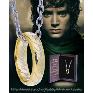 LOTR - The One Ring (Sterling Silver)