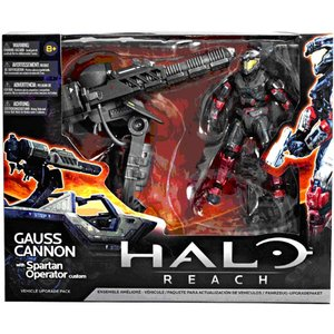 Halo: Reach - Series 3 Warthog Gauss Cannon with Spartan Operator