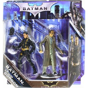 Batman Legacy Edition Prototype Suit Batman & Lieutenant Jim Gordon Action Figure 2-Pack