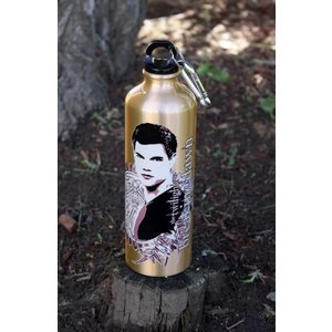 Twilight Breaking Dawn Water Bottle with Carabiner Clip Jacob Ferns