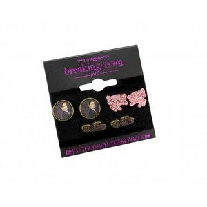 Twilight Breaking Dawn Earrings 3-Pack Team Edward