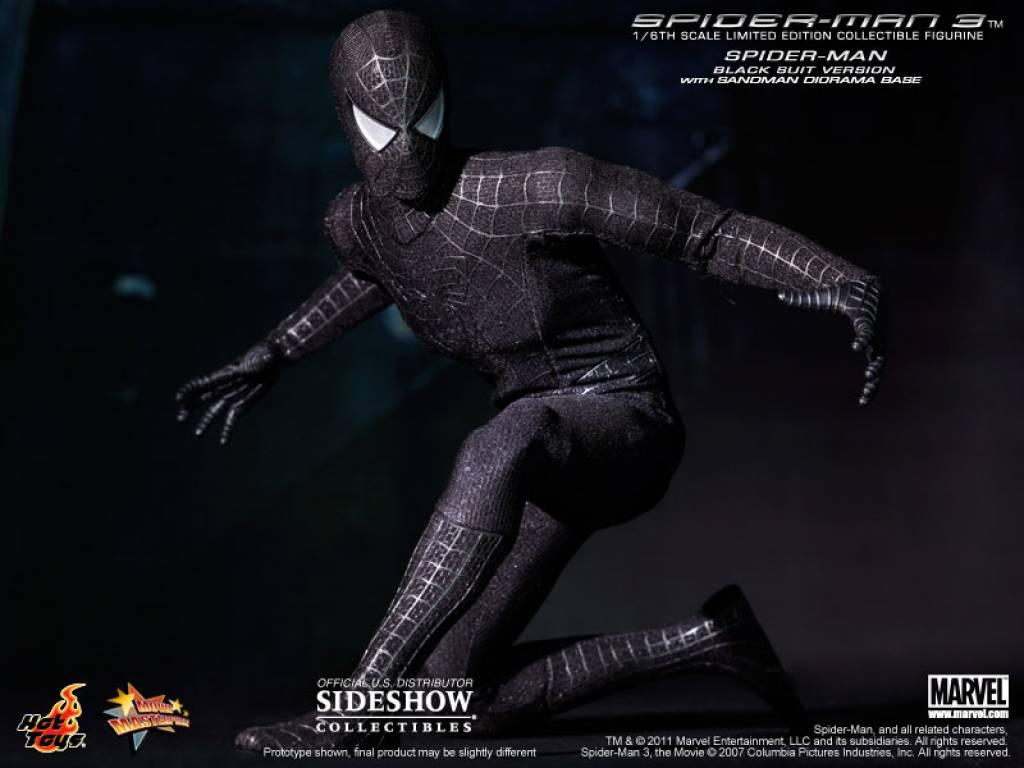 Spiderman Black Suit Wallpaper r Spiderman 3 Black Suit