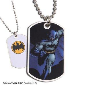 Batman Dog Tag Dark Logo