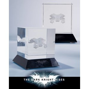 Batman Dark Knight Rises Glass Etching The Bat