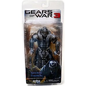 Gears of War 3: Series 3 Savage Theron {Version 1} [Black & Silver Faceplate]