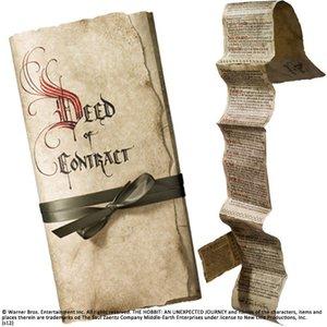 The Hobbit Replica 1/1 Bilbo's Deed of Contract