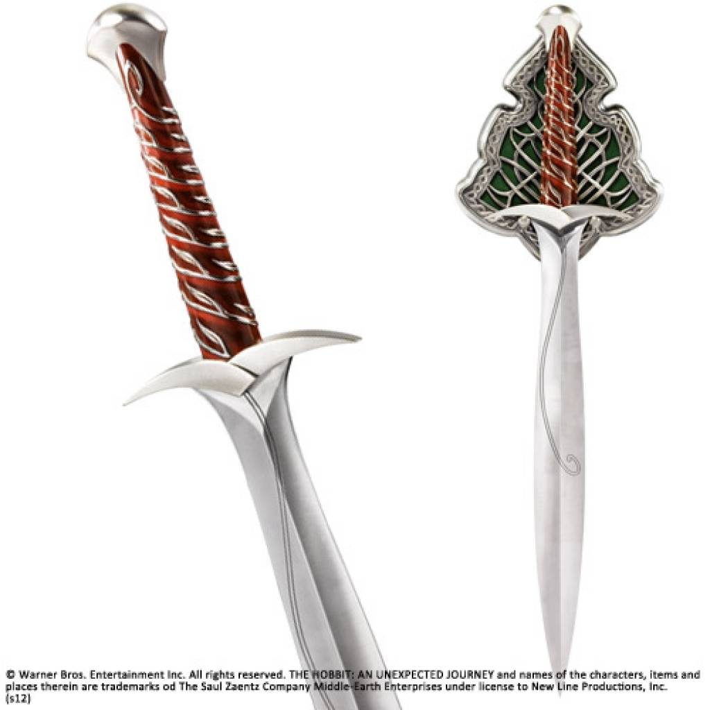 Sting -- Bilbo's sword from The Hobbit   Swords, Swordsmen ...  The Hobbit Bilbo Sword