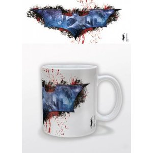 Batman Dark Knight Rises Mug Splatter