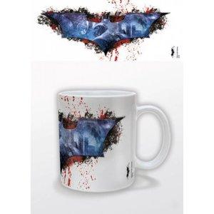 Batman Dark Knight Rises Mug Splatter