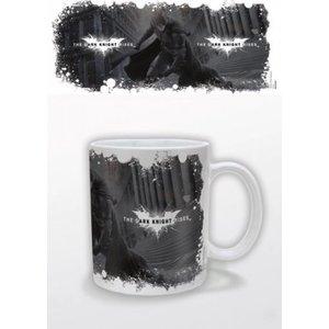 Batman Dark Knight Rises Mug White Logo