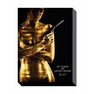 James Bond Canvas Print 50th Anniversary