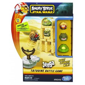 Star Wars Angry Birds Jenga Tatooine Battle Game