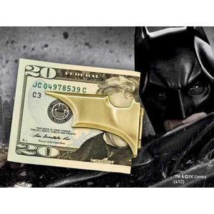 Batman Dark Knight Rises Batarang Folding Money Clip