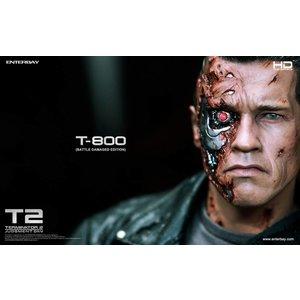 Terminator 2 HD Masterpiece Statue 1/4 T-800 Battle Damaged