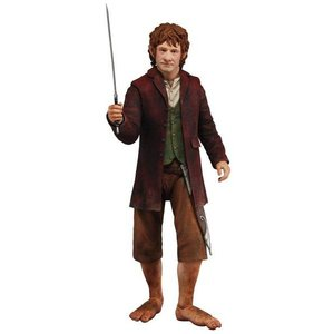 The Hobbit : Bilbo Baggins 1:4 Scale Figure