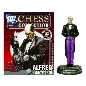 DC Superhero Chess 026 Alfred Pennyworth White Pawn