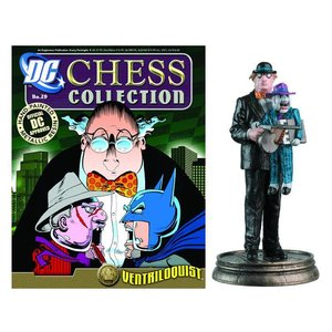 DC Superhero Chess 029 Ventriloquist Black Pawn