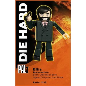 Die Hard Palz Mini Figures Ellis