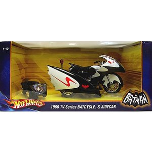Batman Diecast Model 1/12 Bat Bike (TV Series 1966)