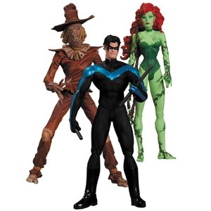 Batman Hush Action Figure Box Set Scarecrow, Nightwing & Poison Ivy