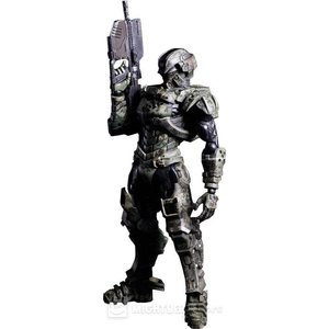 Starship Troopers Invasion Play Arts Kai Major Henry Varro Action Figure
