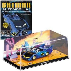 Batman Automobilia Collection #010 - Batman #311 Batmobile 1/43 Scale