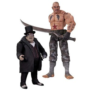 Batman Arkham City Action Figure 2-Pack Sickle & Penguin