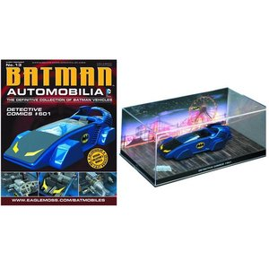 Batman Automobilia Collection #013 - Batman Detective Comics #601 Batmobile 1/43 Scale