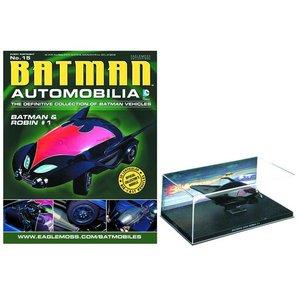 Batman Automobilia Collection #015 - Batman & Robin #1 Bat 1/43 Scale