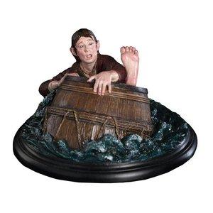 The Hobbit :Bilbo Baggins Barrel Rider (special preview figurine)