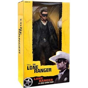 The Lone Ranger Action Figure 1/4 Lone Ranger